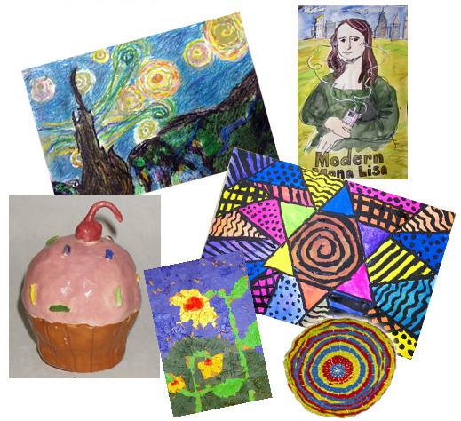 Mrs. Brown's Art Class - Hemenway Elementary